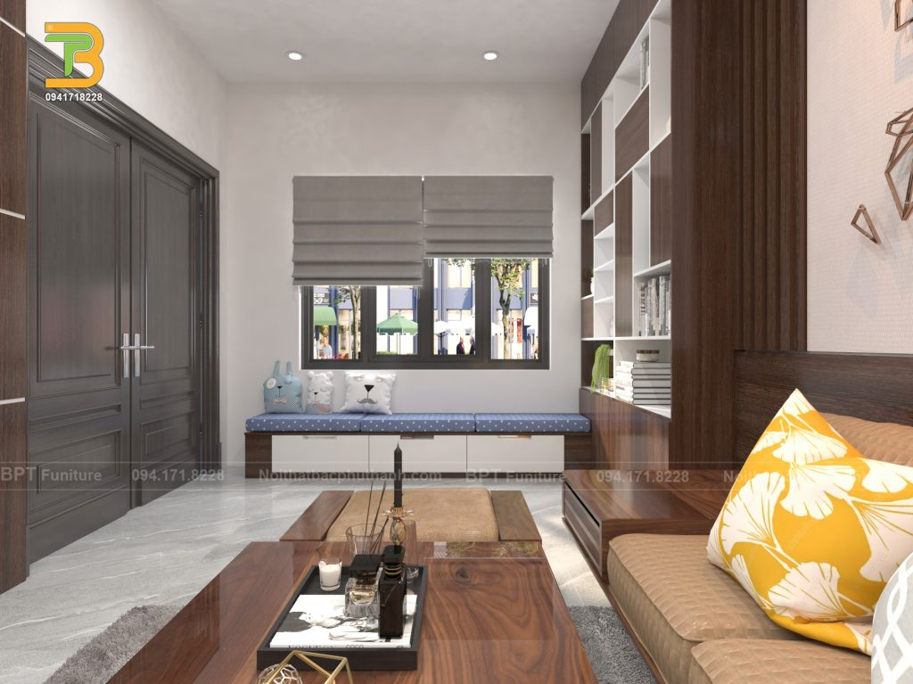 Yếu tố màu sắc trong phong cách nội thất hiện đại