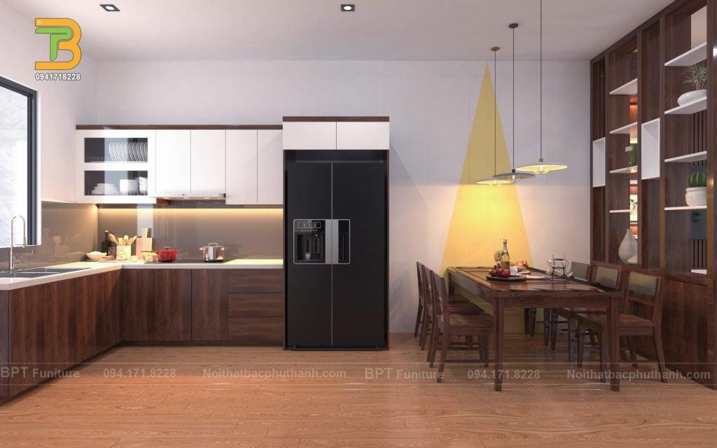 Lưu ý khi lựa chọn nội thất gỗ phòng bếp